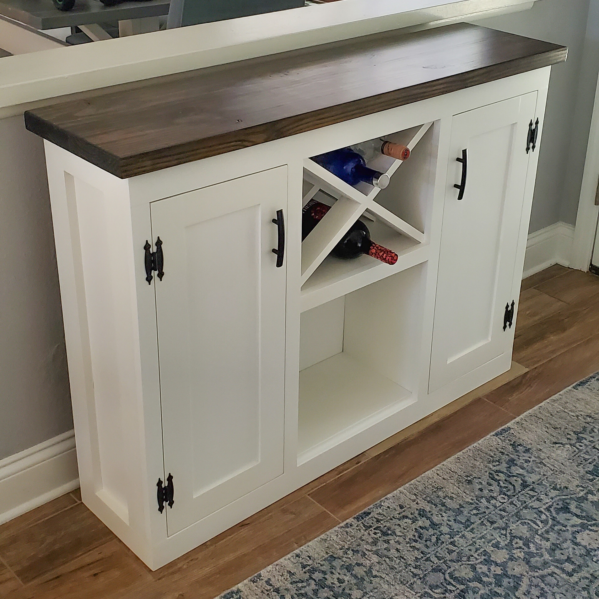 WoodTide Bar Cabinets